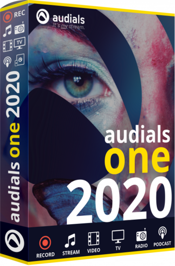 Audials One Platinum 2020 Crack + Serial key Full Free Download
