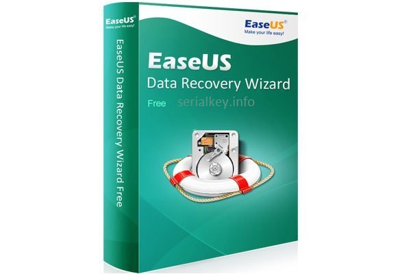 EaseUS Data Recovery Wizard 13.2 Crack + Serial Key Full Download