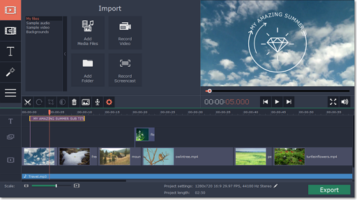 Movavi Video Editor 15.4.0 Crack + Activation Key 2019 Full Download