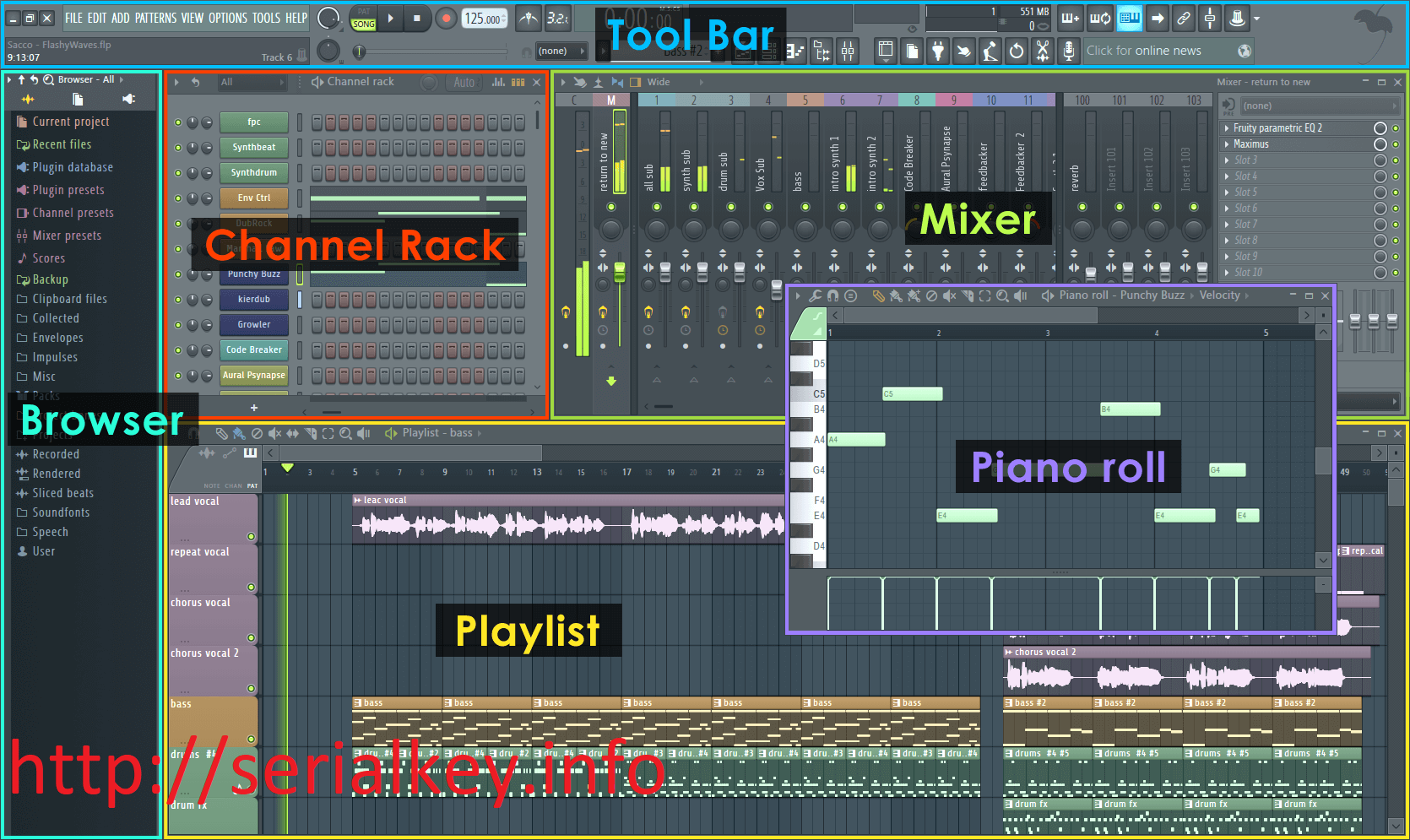FL Studio 20.7.1 Crack + Registration Key Download Latest