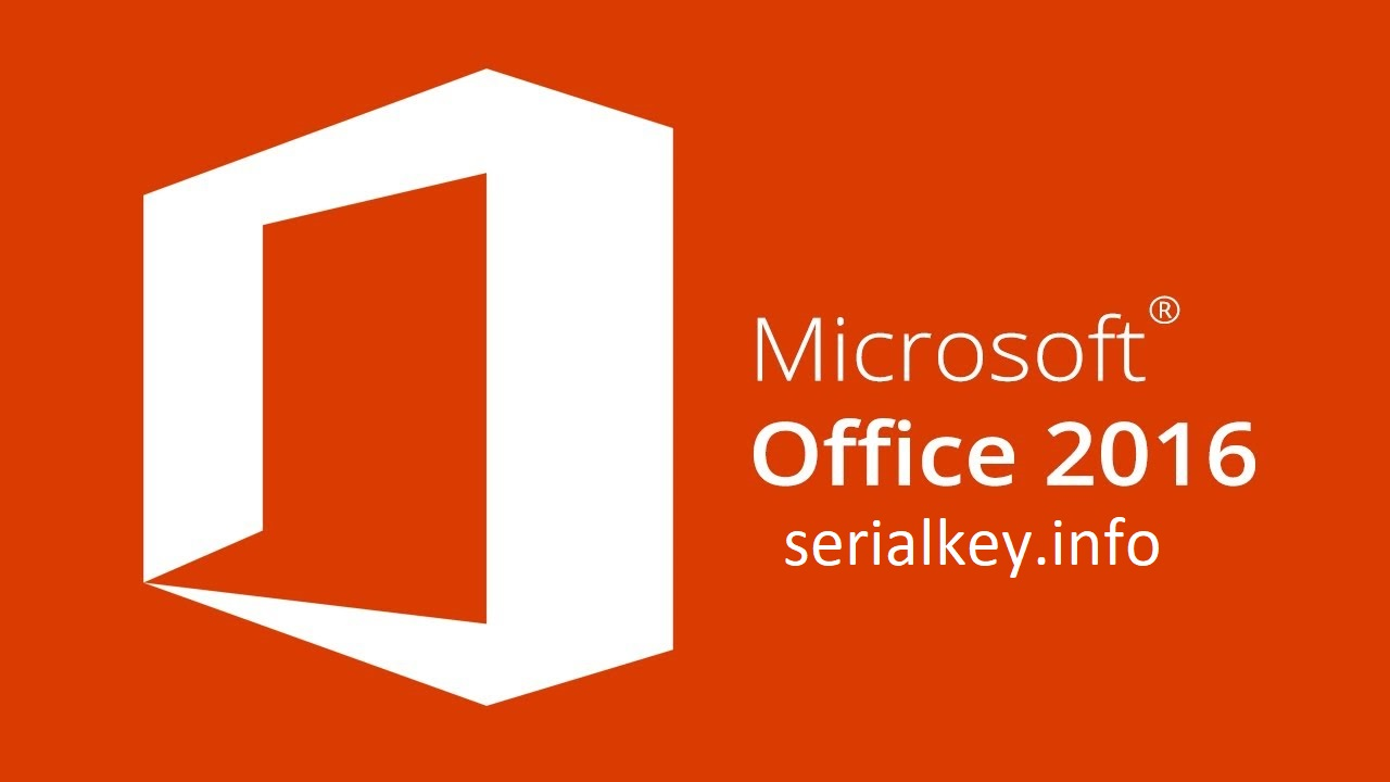 Microsoft Office 2016 Serial Key With Crack Full Version Download