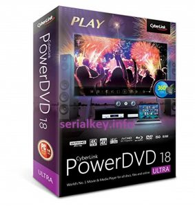 Cyberlink PowerDVD Ultra 18 Crack With Serial key Download