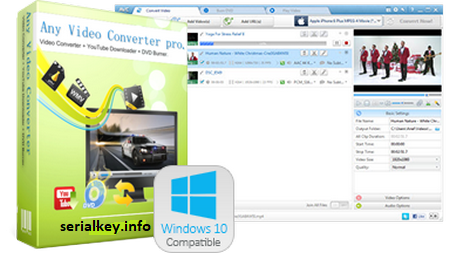 Any Video Converter Pro 6.3.7 Crack + Serial Key {Latest Version}