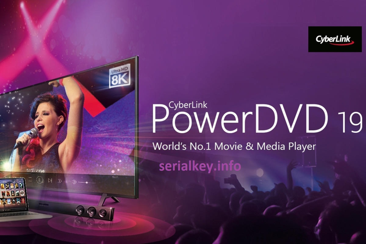 Cyberlink PowerDVD Ultra 19 Crack With Serial key Download