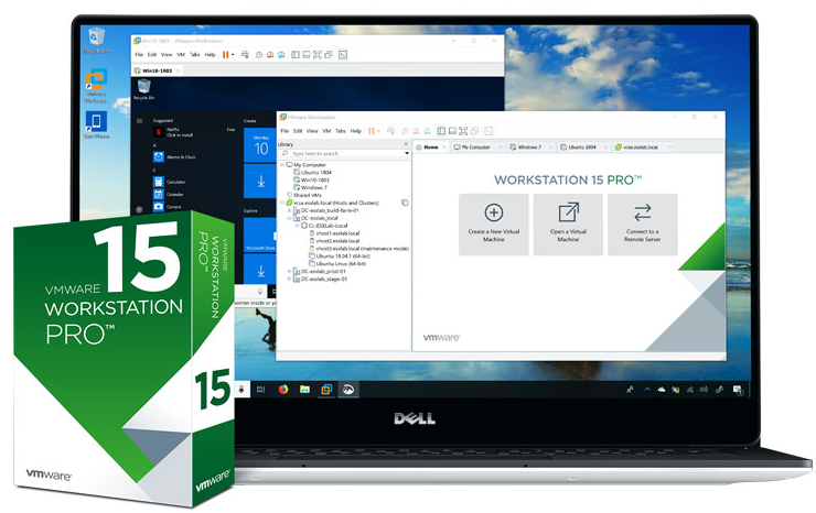 VMWare Workstation Pro 15.5.5 Crack + License Key 2020 [Updated]